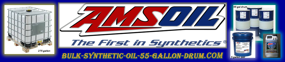 Amsoil synthetic oil in bulk containers interceptor for Motor oil 55 gallon drums wholesale